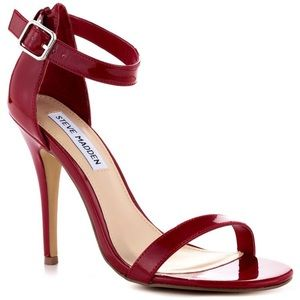 Steve Madden Realove High-Heel Sandals Red Patent